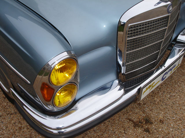 Mercedes 280SE automatique de 1972