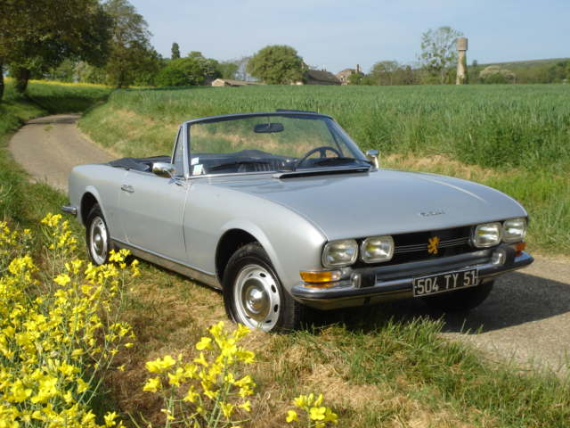 Peugeot 504 Cabriolet injection,1972