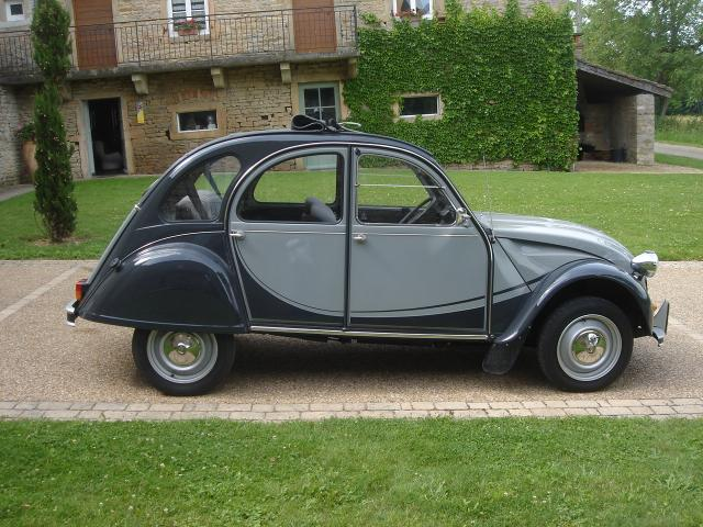 2cv charleston grise a vendre. Black Bedroom Furniture Sets. Home Design Ideas
