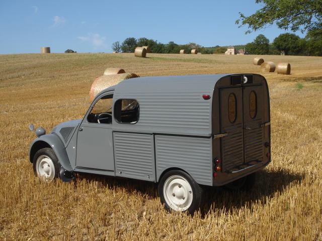 citroen 2cv camionnette a vendre