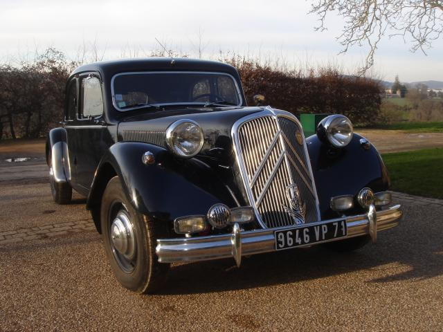 Traction 15 Six 1953