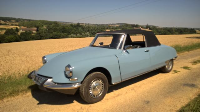 DS19 cabriolet