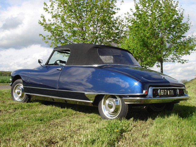 DS 19 cabriolet 1964