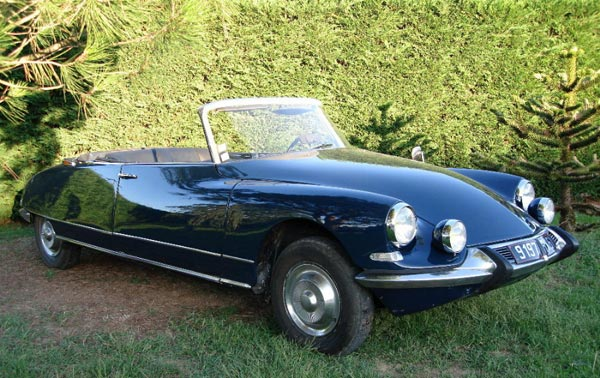 DS 19 cabriolet 1965