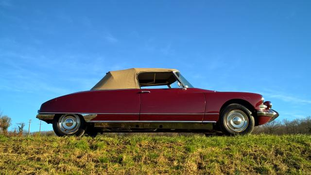 DS 21 cabriolet 1967