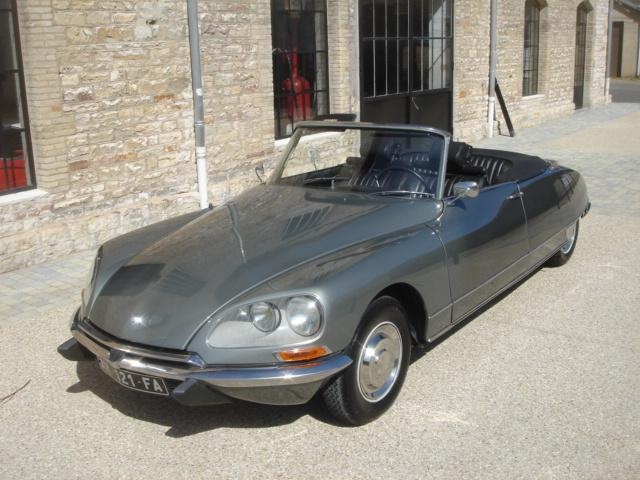 DS21 cabriolet 1968