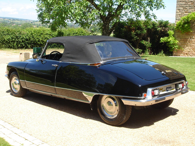 DS21 injection cabriolet 1970