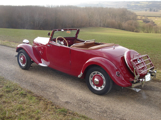 Citroen Traction 11BL Roadster 1937