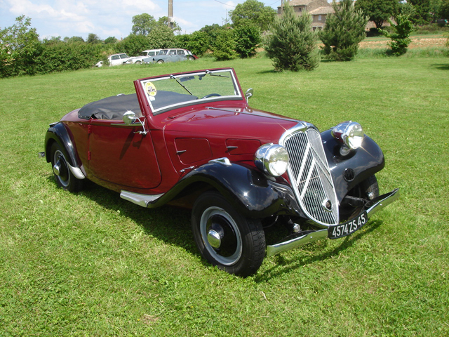 Traction 11AL roadster 1935